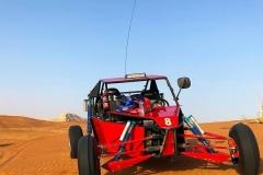 Driving dune buggies