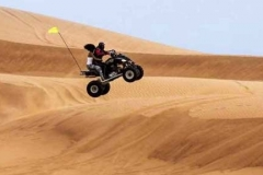 Morning desert safari with Quad Bike