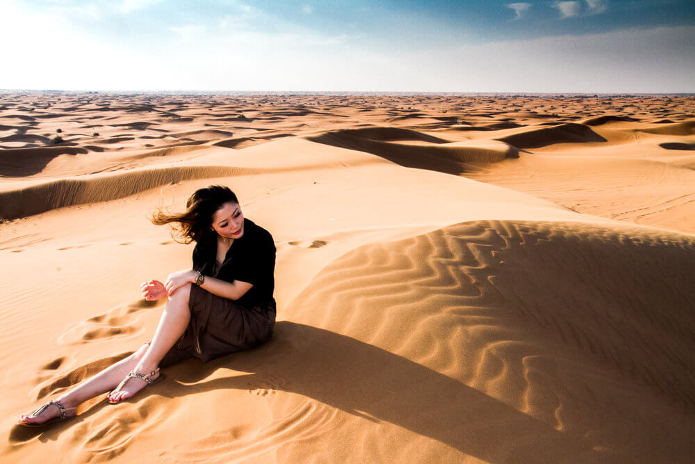 Desert Safari in Dubai Outfits Ideas