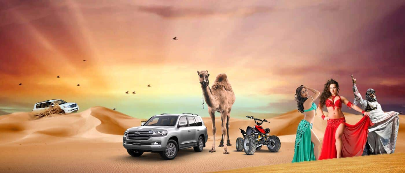 Dubai Evening Desert Safari Tours with BBQ
