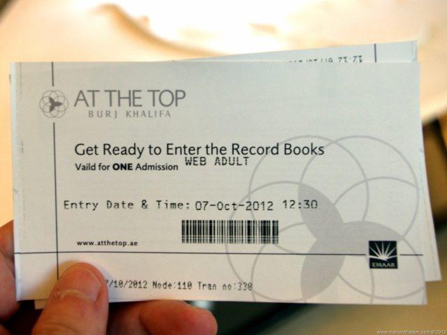 burj khalifa ticket booking