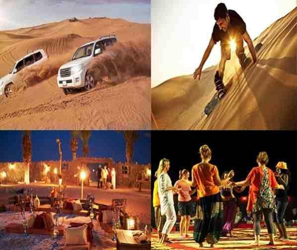 best overnight desert safari