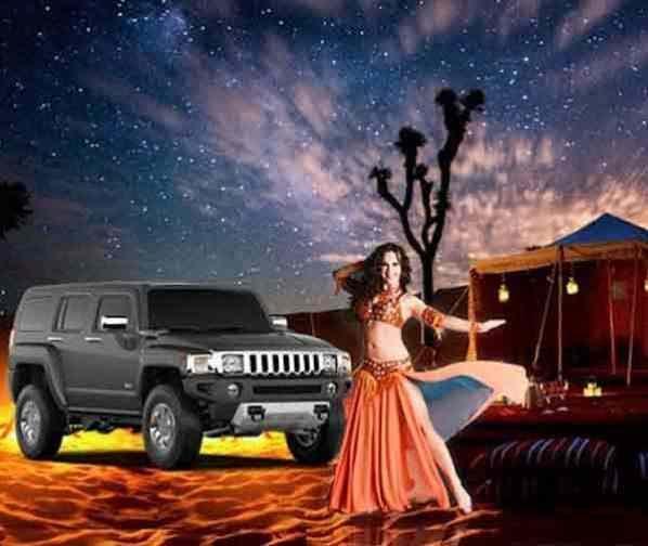 Overnight Desert safari fun