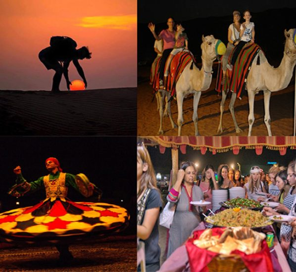 best Overnight desert safari deals in Dubai
